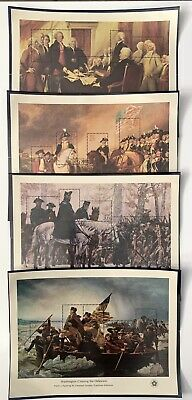 US Stamps Scott # 1686-89 Four Bicentennial Souvenir Sheet MNH