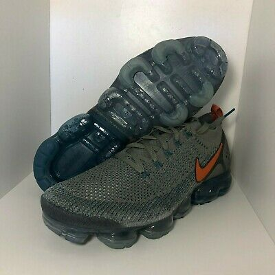 Nike Air Vapormax Flyknit 2 Dark Stucco Light Silver 942842-011 Mens