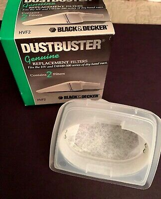1 Genuine Black & Decker Dustbuster Filter Fits Dustbuster HV DB100 500 in box