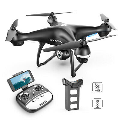 Holy Stone HS100 FPV Drone With 1080P HD Camera GPS WiFi Fellow Me RC Quadcopter