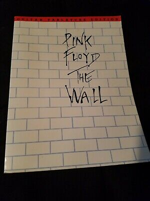 Pink Floyd The Wall Guitar tab Tablature Edition Song book