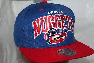 best loved aa107 0af71 Denver Nuggets Mitchell   Ness NBA Team Arch Snapback,Hat,Cap ...