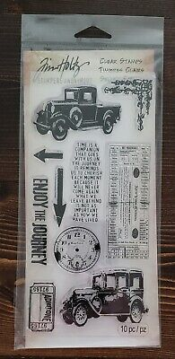 New Tim Holtz Stampers Anonymous clear stamp clings