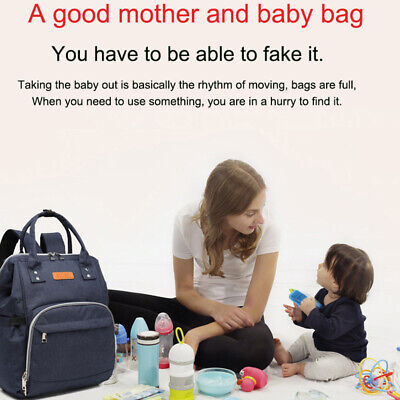Mummy Baby Maternity Changing Nappy Backpack Rucksack Bag