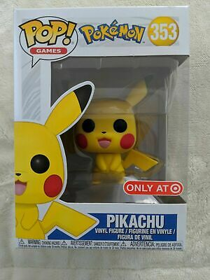 Funko Pop Games Pokemon PIKACHU #353 TARGET Exclusive Brand New Hard to Find!!