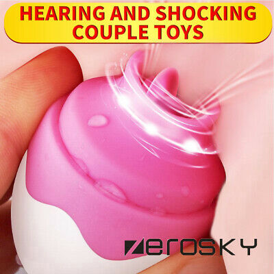 Clit Breast Nipple Liicking Vibrator Bllowjob Vibrating Tongue Women Toy Pump