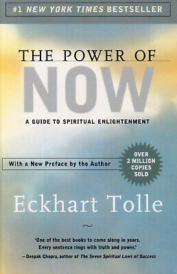 the POWER OF NOW by Eckhart Tolle - GC PB - Qld QikPost c