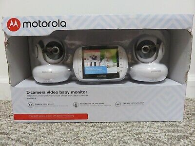 Motorola Video Baby Monitor - 2 Cameras & 3.5 Inch Color Screen - MBP36S-2