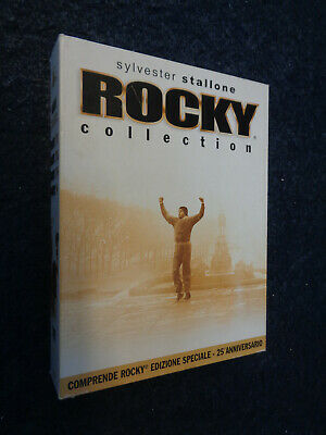 Dvd - Rocky Collection - Box 5 Dvd - I Ed Speciale 25° - Ii Iii Iv V - A6-Fl
