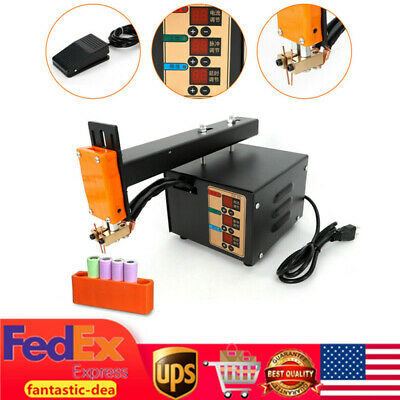 3KW Battery Pulse Spot Welder Soldering Welding Machine for Battery Packs NEW US