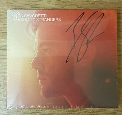 Jack Savoretti - Singing To Strangers digi CD HAND SIGNED  sealed brand new