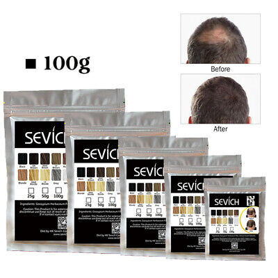 Sevich Keratin Hair Building Fibers Refill 100g Hair Loss Concealer Filler Fiber