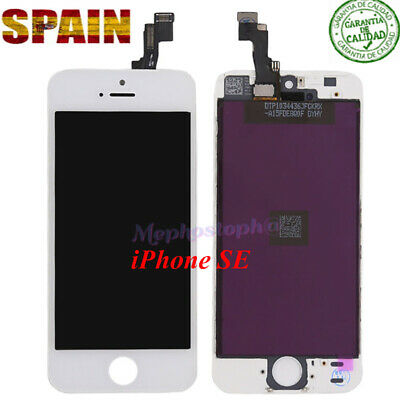 Pantalla Frontal  LCD iPhone SE Display Retina Tactil Digitalizador Blanco