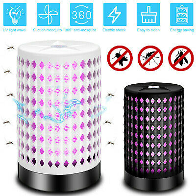 UV Electric Insect Fly Killer Grid Bug Zap Zapper Pest Flying LED Lamp Catcher