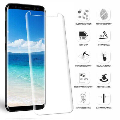 For Samsung Galaxy Note 8 - 100% Full Curved Tempered Glass LCD Screen Protector