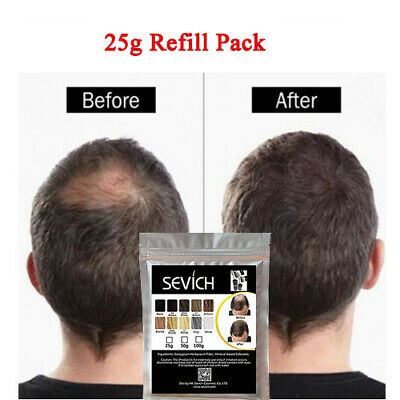Sevich Hair Loss Fibers Natural Keratin Thickening Powder Color Refill 25g Bag