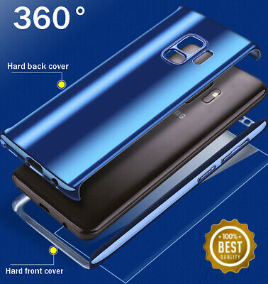 For Samsung Galaxy S8 S9 S10+ 360° Shockproof Full Body Hybrid Hard Case Cover