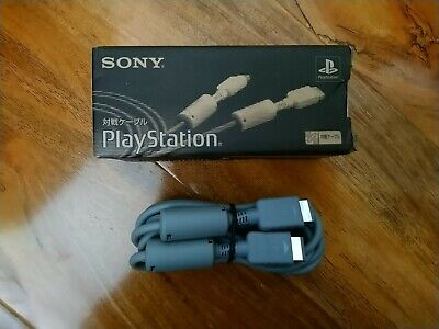 OFFICIAL SCPH-1040 Sony PlayStation LINK CABLE PS1 BOXED  genuine