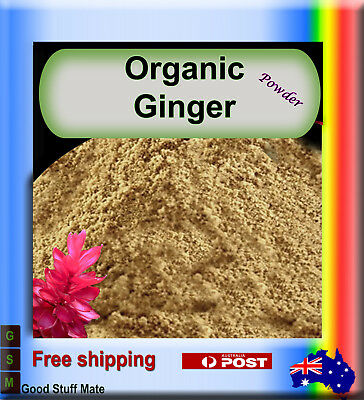 Au Seller Organic Premium Ginger Powder Very High Quality Fast Free Shipping