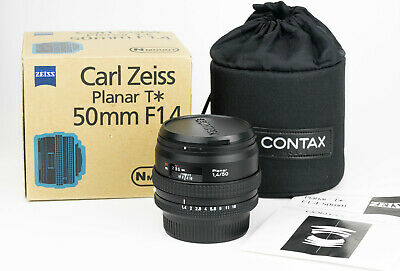 Carl Zeiss T* Planar 50mm 1:1.4 for Contax N mount obiettivo fast lens *like new