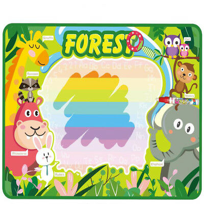 Hot Pen Baby Child Puzzle Toys Kids Large Water Doodle Mats With 1 Doodle New GA