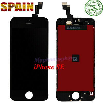 Pantalla iPhone SE LCD Front Retina Pantalla Display Tactil Digitalizador Negro