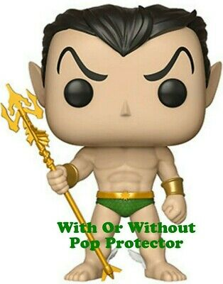 Funko Pop Namor *Pre-order* With or Without Pop Protector