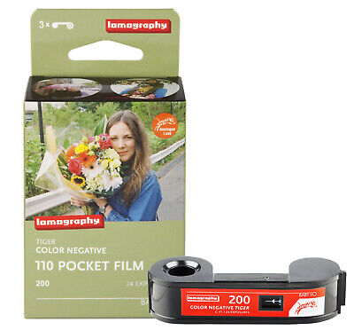 3 Roll Lomography LOMO 200 ISO 24exp Tiger Color Netgative 110 Pocket Film - US