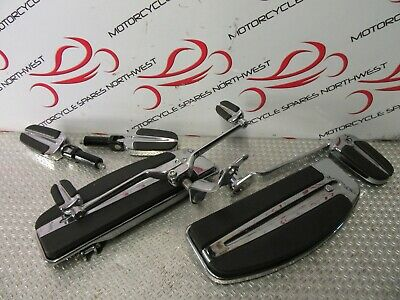 Harley Davidson Flstf Fat Boy 2014 103 Slipstream Footboard & Pedal Kit Bk504