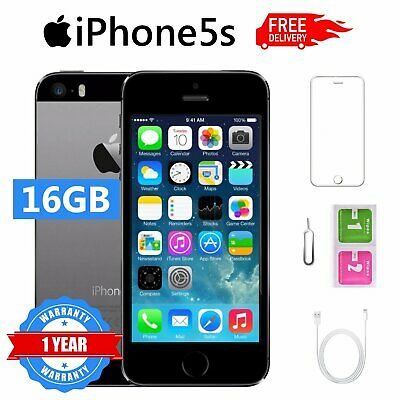 Apple iPhone 5s 16GB Grado B Space Grey Accessori SBLOCCATO GARANZIA 12 MESI