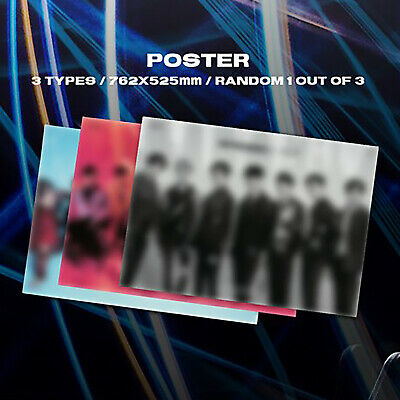 [GOT7]Spinning Top : Eclipse / Unfolded POSTER:Security/&/Insecurity+Poster Case