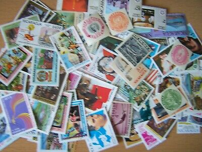 500 Different Nicaragua,U/M,Used,Nice Selection.many Commems,Excellent.