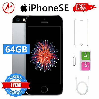 Apple iPhone se 64GB Grado A Space Grey Accessori SBLOCCATO GARANZIA 12 MESI