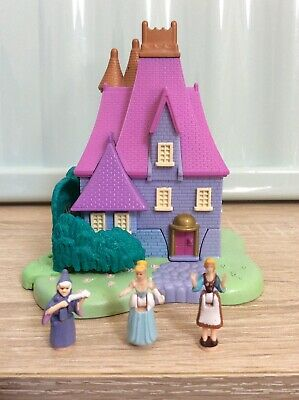 Vintage Polly Pocket 1995 Disney Cinderella Stepmother's House 100% Complete