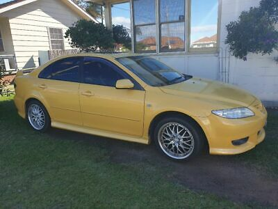 2005 Mazda 6 sports Manual- Aug Rego
