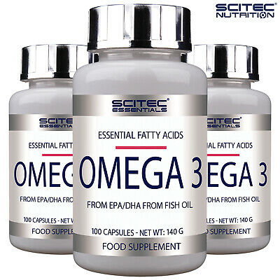 OMEGA 3 - Highest Quality - Fatty Acids Fish Oil EPA DHA - Support Brain & Heart