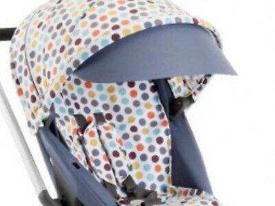 Stokke Scoot Style Kit Multi Coloured Spots, Hood, Seat Liner,Bag,Harness Covers