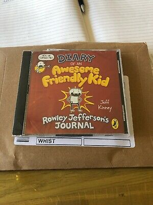 Diary Of An Awesome Friendly Kid Audio Book CD Brand New