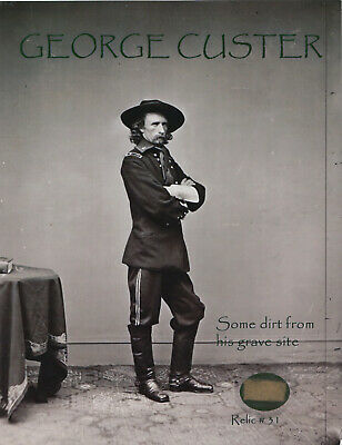 GENERAL GEORGE CUSTER - COLLECTIBLE REMNANT - 11x9