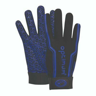 BLUE VELOCITY THERMAL FULL FINGERED GLOVES VARIOUS SIZES Free P&P Rugby