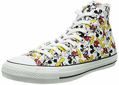 89190d72963 Converse All Star 100 Mickey Mouse Pt Hi As100 M P H Sneakers Us423Cm New