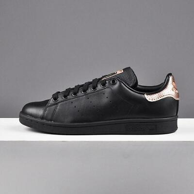 adidas rose gold and black trainers