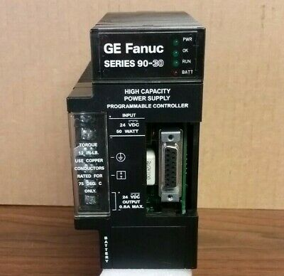 GE Fanuc IC693PWR331D Power Supply