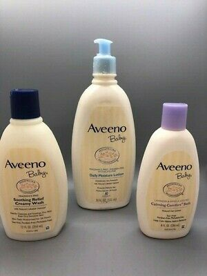 Aveeno Baby - Pack of 3 NEW, BABY CARE, FREE SHIPPING!!
