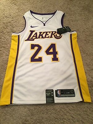 e3b21dd23f6 Authentic Nike Kobe Bryant Swingman Lakers Jersey AQ2108-100, Size M , NWT