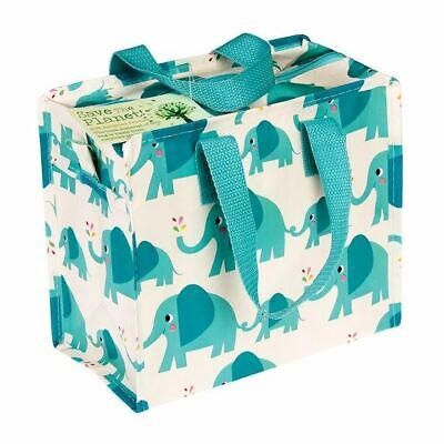™ Eco Friendly Recycled Elephant Charlotte Bag Storage School Lunch Bag