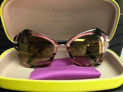efd7ad74ed14 EMILIO PUCCI EP70072/S Pink Gradient Sunglasses $310 MSRP MADE IN ITALY
