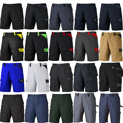 Dickies Work Shorts (Various Styles) Men's Combat Cargo Trade Black Navy & Grey