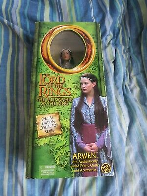 The Lord Of The Rings ARWEN Toy Biz Special Edition Collector Series Figure NEW