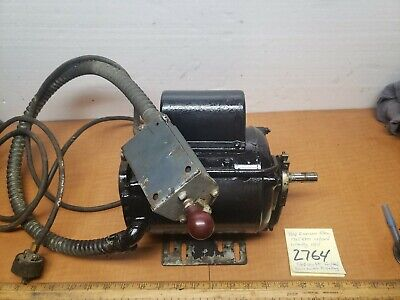 Southbend lathe 1/3hp 115/230v1725rpm For/rev drum Switch Plug&play Atlas...